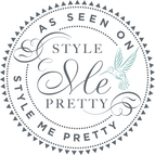 Logo for Style Me Pretty - Hannah Trahan - Event Centers in Lafayette La