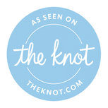 As Seen on The Knot Logo - Hannah Trahan - Private Event Planner - Lafayette La