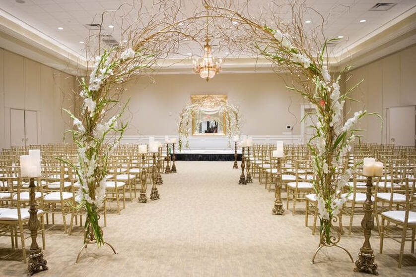 One of three indoor wedding venues at Le Pavillon at Parc Lafayette - Reception Venues - Lafayette Louisiana